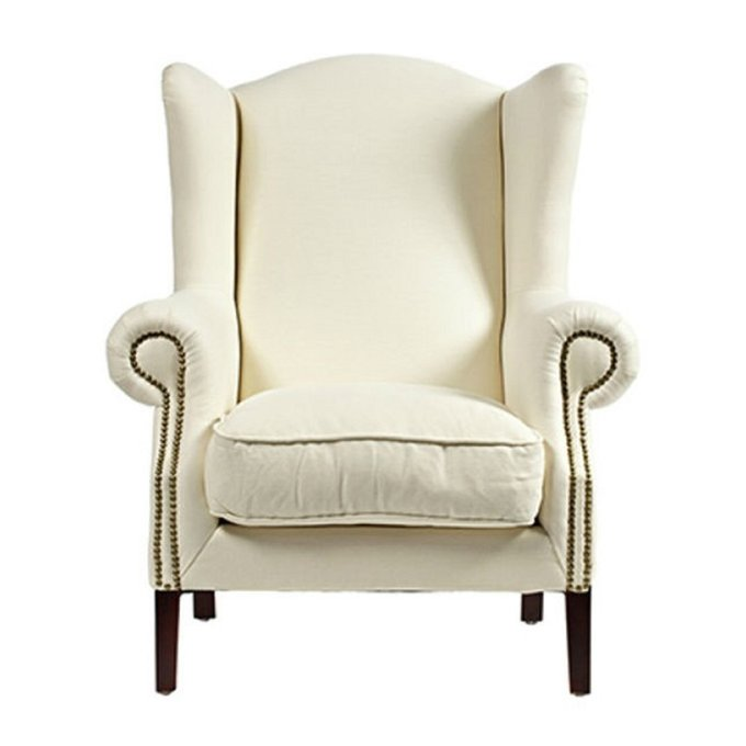 Кресло Sommerset белого цвета