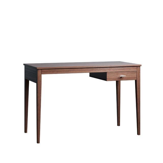 Письменный стол Ustas-3 160х80 с одним ящиком цвета орех