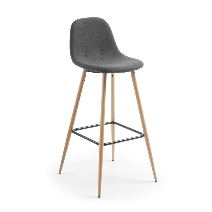 Полубарный стул Nilson серого цвета
