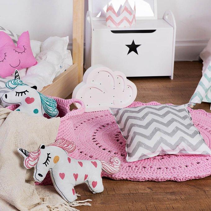 Игрушка-подушка Unicorn из 100% хлопка