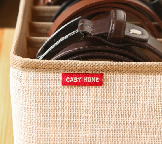 Органайзер Casy Home для ремней бежевый
