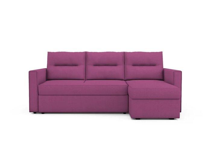 Угловой Диван-кровать Macao правый пурпурного цвета