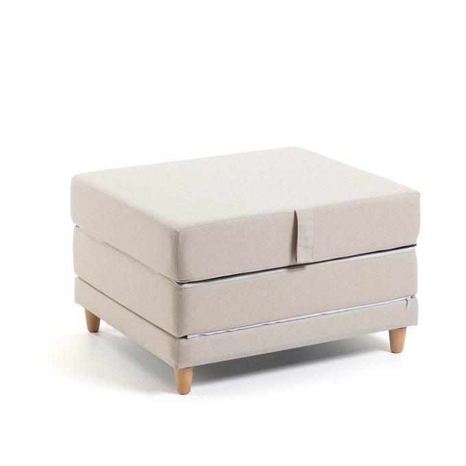 Пуф-кровать Lizzie белого цвета