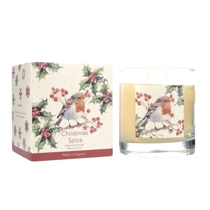 Ароматическая свеча Вкус Рождества