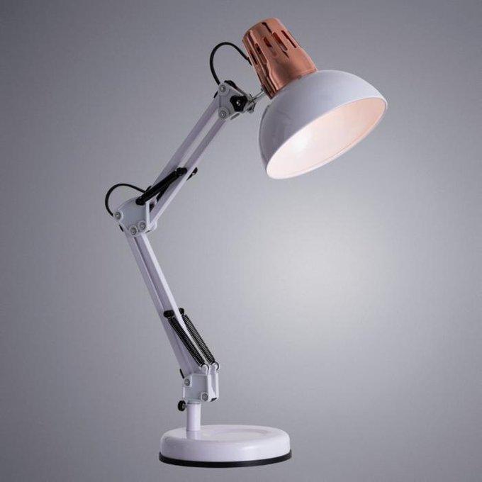 Настольная лампа Luxo белого цвета