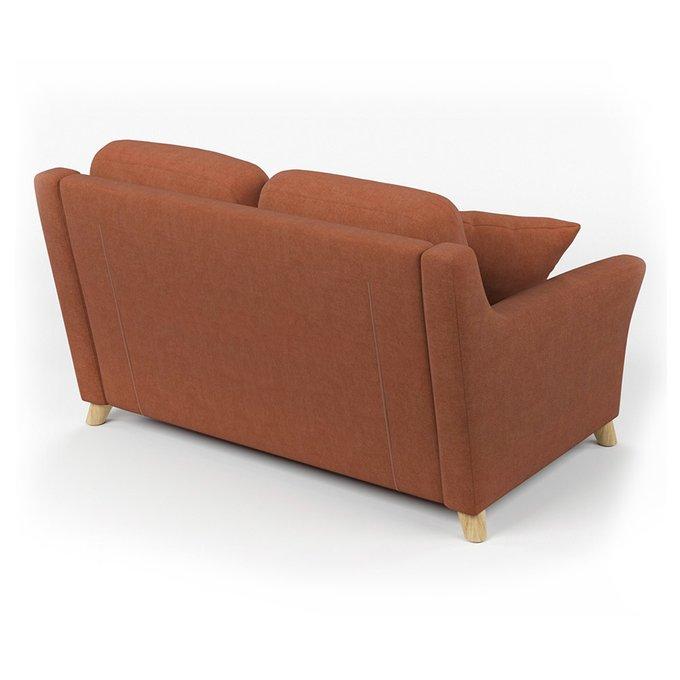 Диван-кровать Raf SF двухместный коричневого цвета