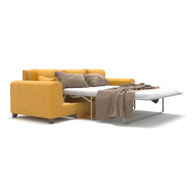 Диван-кровать Vittorio MT трехместный long желтого цвета