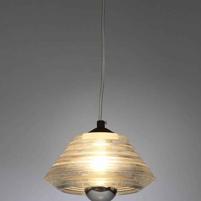 """Подвесной светильник """"Pressed Glass Bowl"""""""