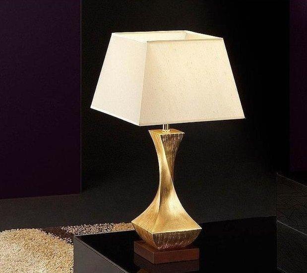 Настольная лампа Schuller Deco с белым абажуром