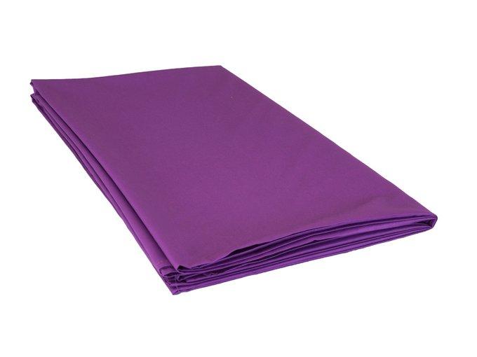 Простыня Plain Collection пурпурного цвета 160х220