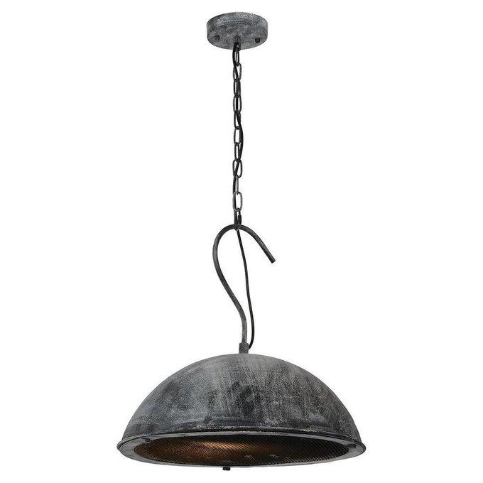 Подвесной светильник серого цвета