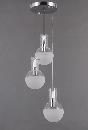 Подвесной светильник Cesare со стеклянными плафонами