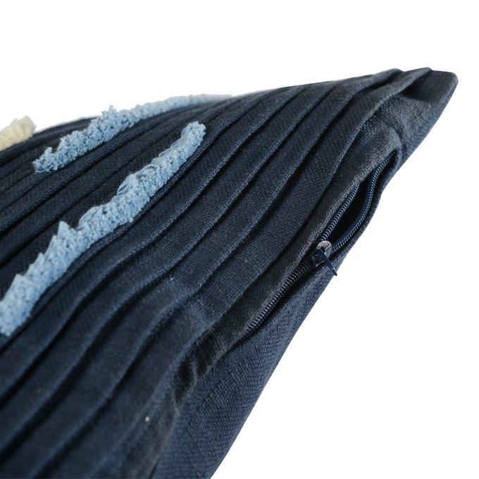 Подушка декоративная Ethnic с бахромой и эффектом плиссе