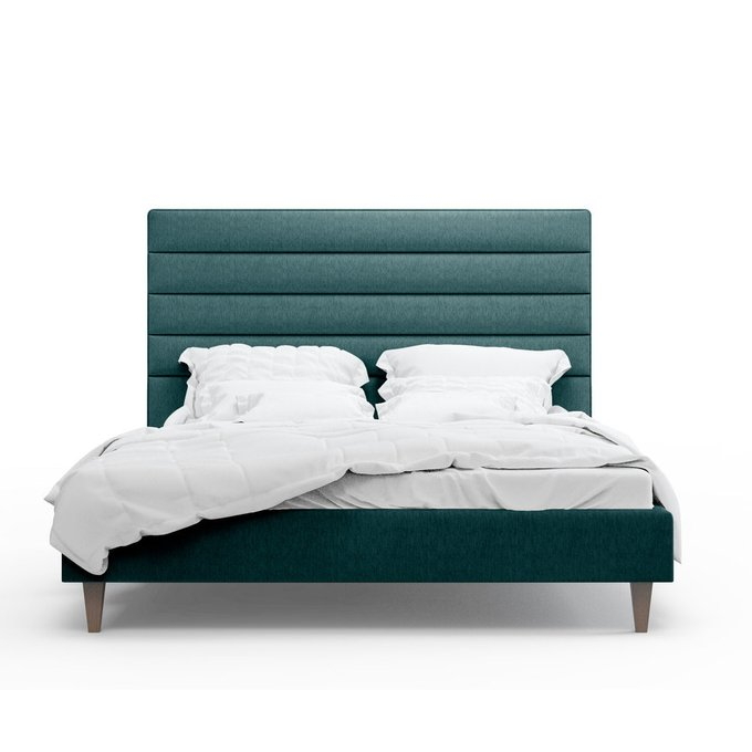 Кровать Джейси зеленого цвета 180х200