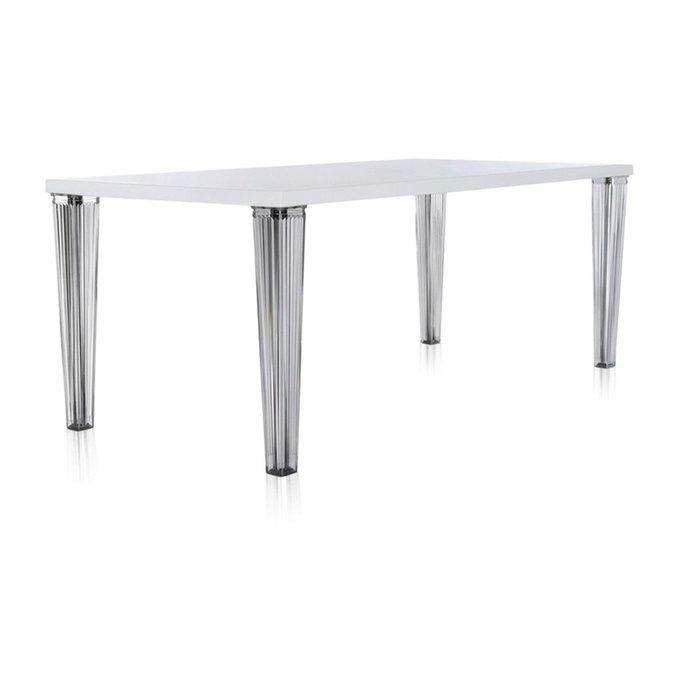 Стол обеденный TopTop с белой столешницей