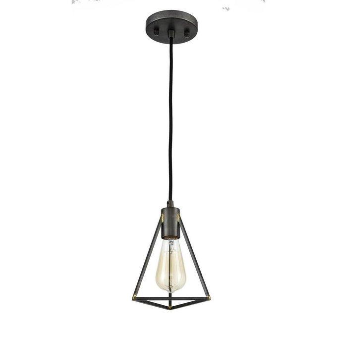 Подвесной светильник Storm темно-коричневого цвета