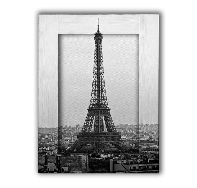 Картина с арт рамой Париж 80х100