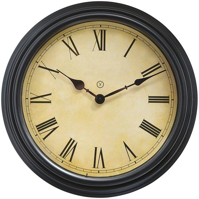 Настенные часы Edinburgh с состаренным циферблатом