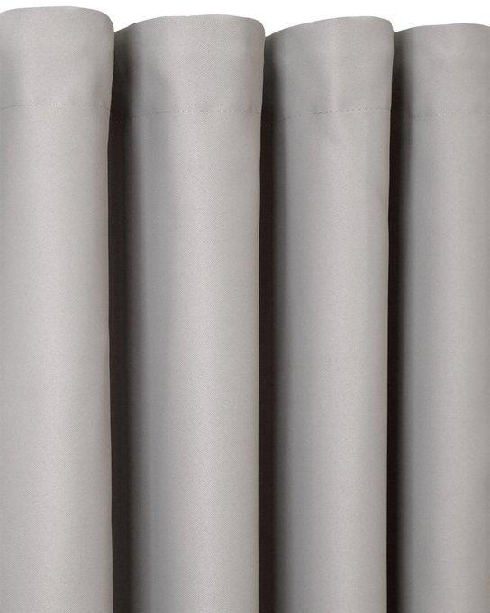 Штора блэкаут Dove 170х270 серого цвета