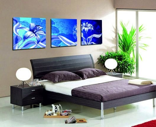 Декоративная картина: Сказочные лилии