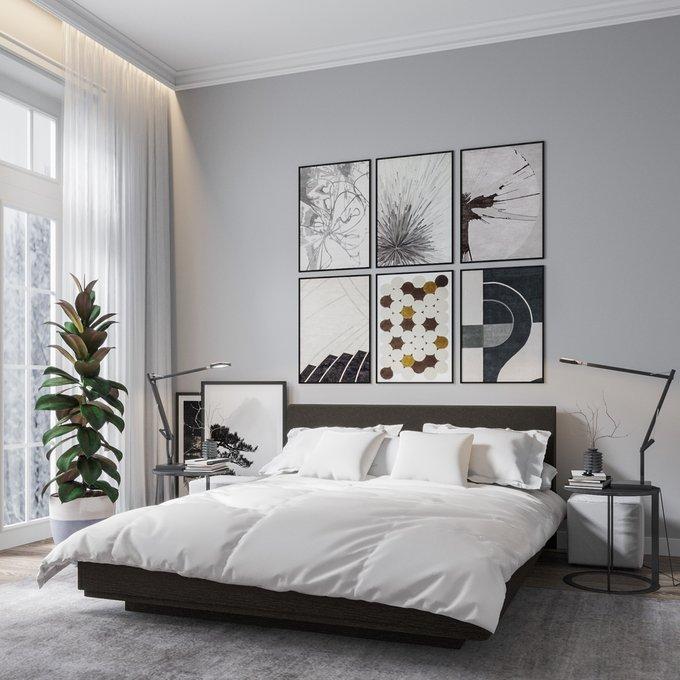 Двуспальная кровать с подъемным механизмом Элеонора 140х200