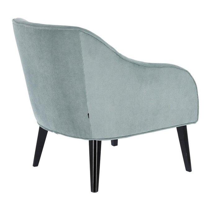 Кресло Lobby Bobly бирюзового цвета