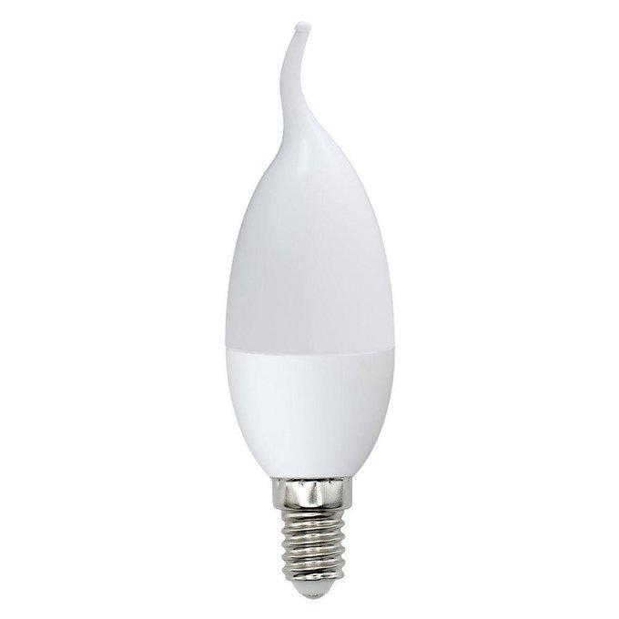 Лампа светодиодная Свеча на ветру матовая