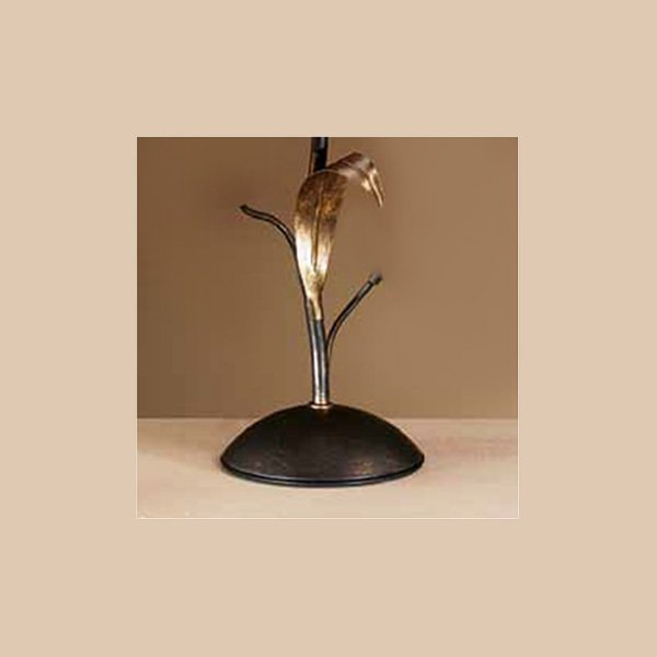 Настольная лампа MM Lampadari с розовым абажуром