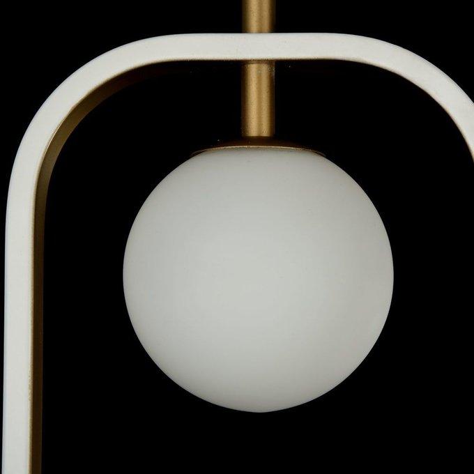 Подвесной светильник Avola бело-золотого цвета