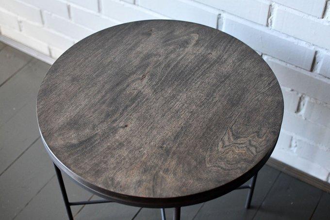 Журнальный стол Black Moon со столешницей из березовой фанеры