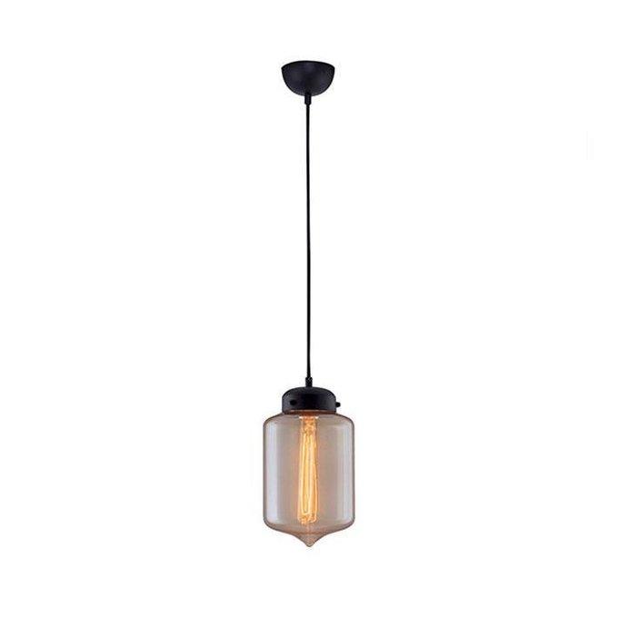 Подвесной светильник Менора с плафоном из стекла