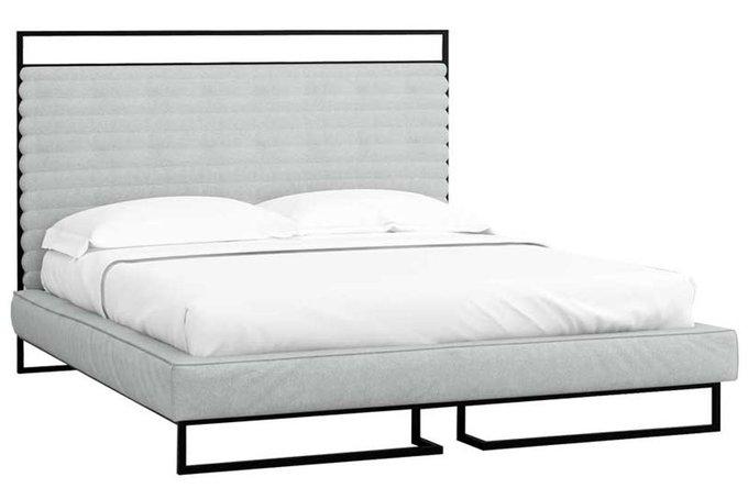 Кровать Loft Грейс Стоун с подъемным механизмом и ящиком 160х200