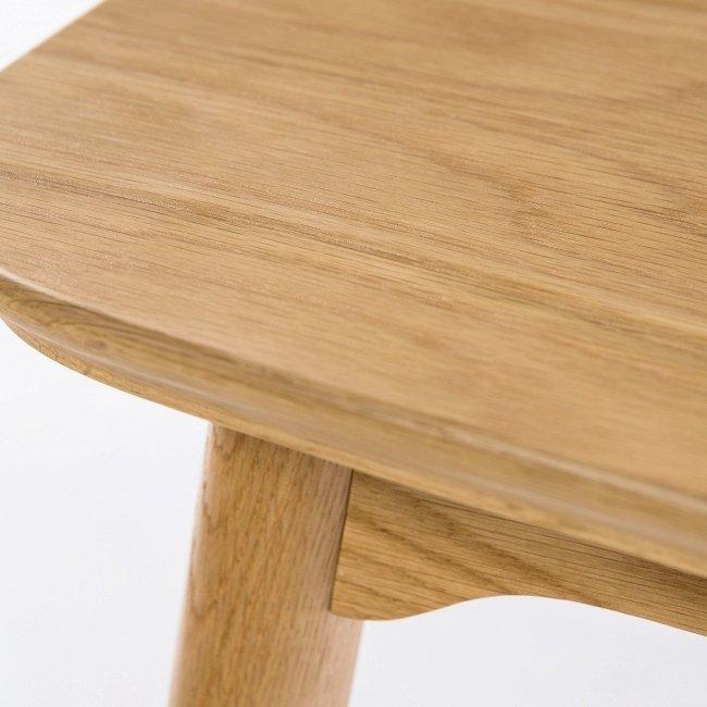 Кофейный стол Dad из белого дуба