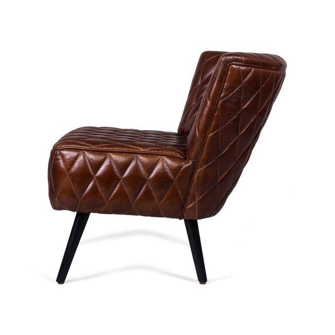 Кресло Acicula коричневого цвета