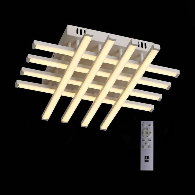 Потолочный светодиодный светильник Intersezione  с белыми плафонами