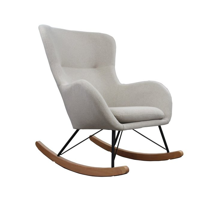 Кресло-качалка Sherlok бежевого цвета