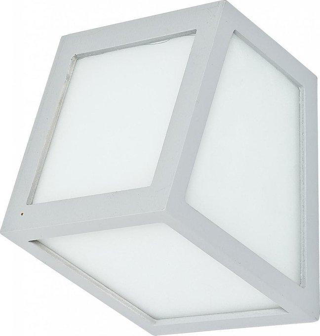 Настенный светильник Ver бело-серого цвета