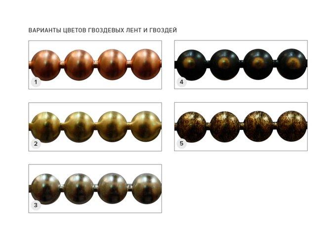 Кровать Фиби темно-коричневого цвета 140х200