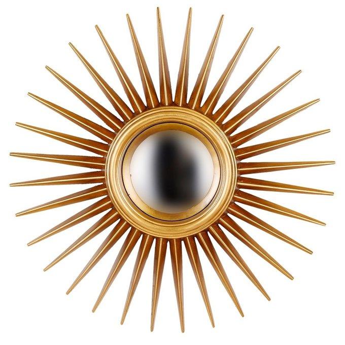Настенное Зеркало-солнце Star Gold