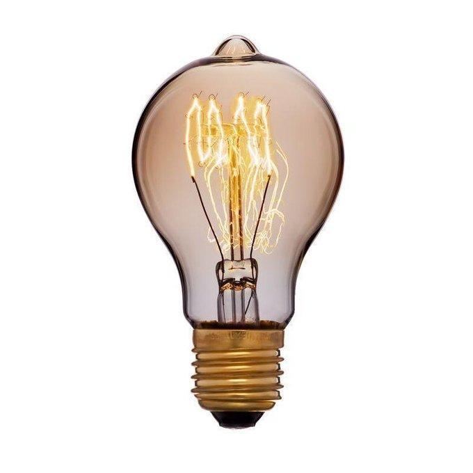Лампа накаливания Ретро с прозрачной колбой