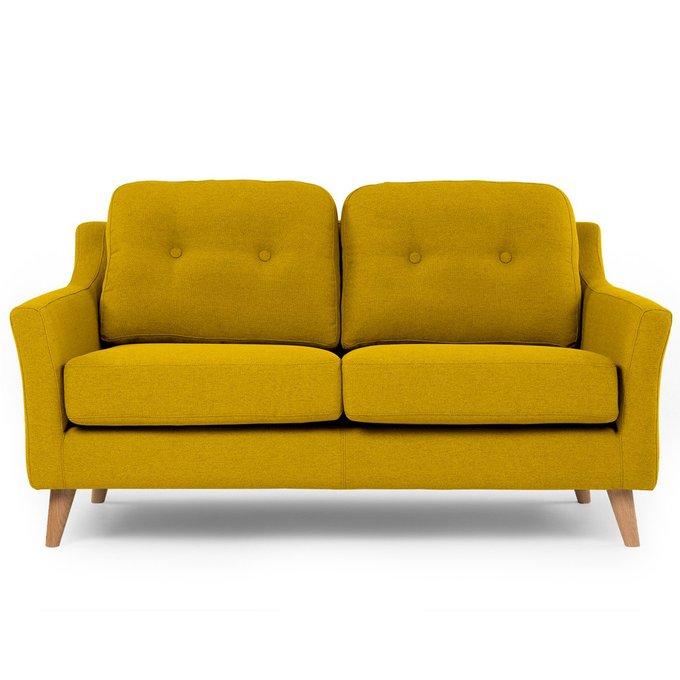 Диван Raf ST двухместный желтый