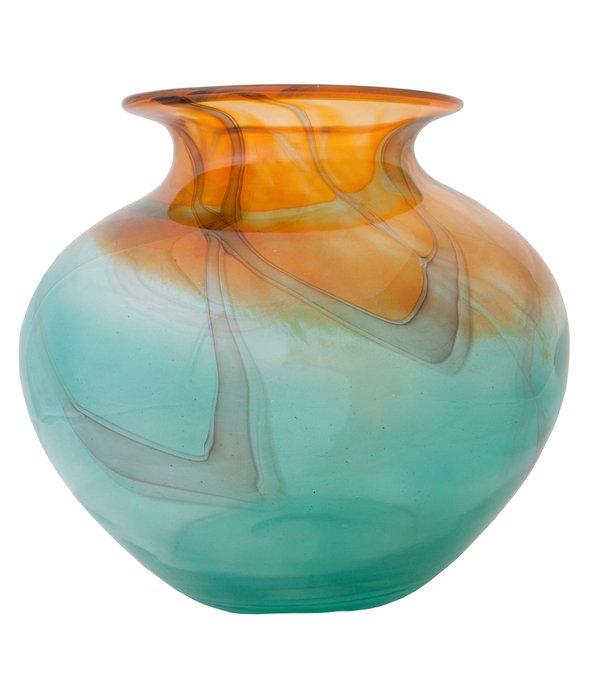 Настольная ваза Alice Round Glass Vase из стекла