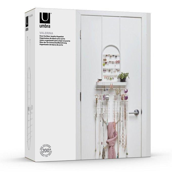 Органайзер для украшений Valerina белого цвета