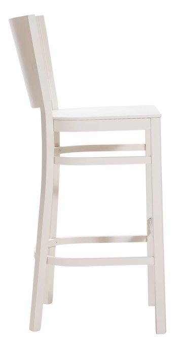 Барный стул Бергамо белого цвета