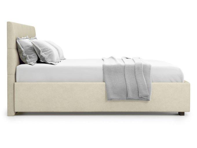 Кровать Garda 140х200 бежевого цвета с подъемным механизмом