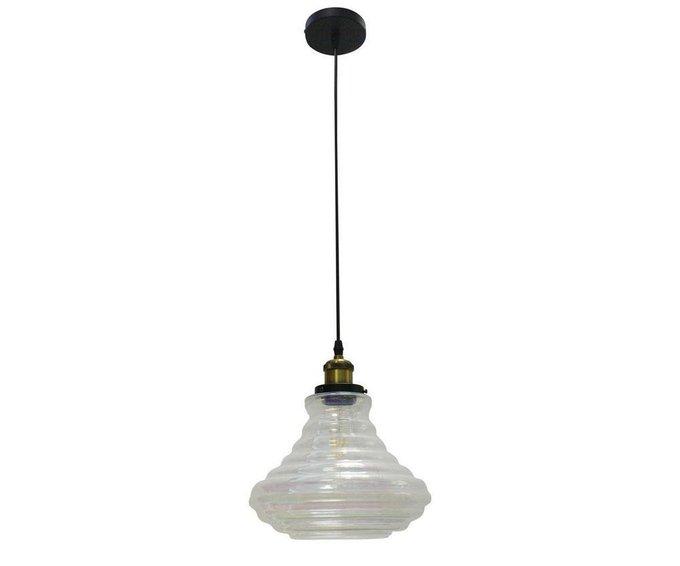 Подвесной светильник со стеклянным плафоном