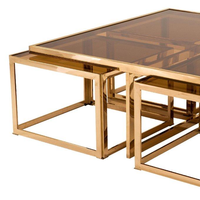 Журнальный столик Van Roon CEASARE  розовое золото