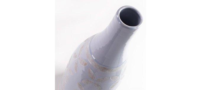 Ваза Julia Grup ARCO керамическая светло-голубая