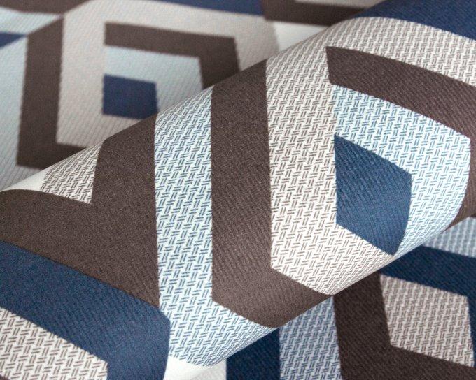 Покрывало Uno Escada Ocean 140x210 сине-коричневого цвета