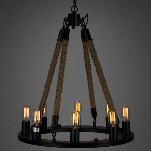 Подвесной светильник Bulb candle в стиле лофт